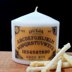 horror decor, Gothic decor, Ouija Board candle