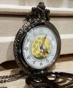 Necklace-Large-Black-Ribcage-Clock