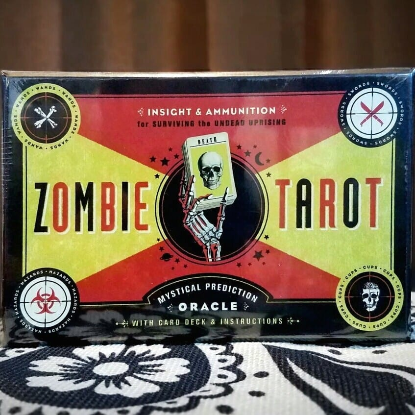 7f2bcc23dbe89 Zombie Tarot Card, Zombie Games, Fortune Telling Cards - Oddity ...