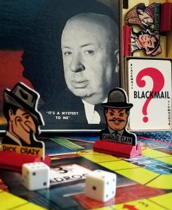 vintage Alfred Hitchcock board game why complete 1958