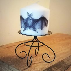 Pillar Candle Stand Metal Stand Gothic Gifts