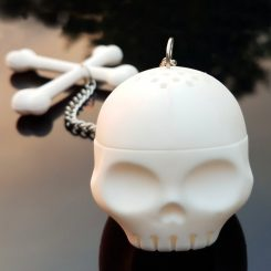 Skull Tea Infuser Skull Drinkware