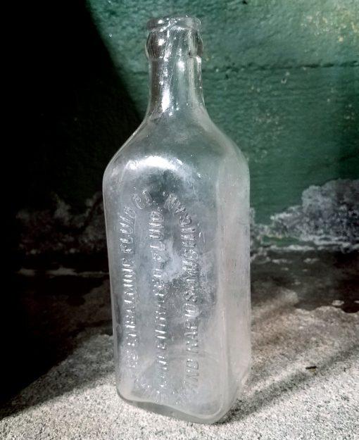 Antique Embalming Fluid Bottle Formaldehyde Vintage Bottle Durfree