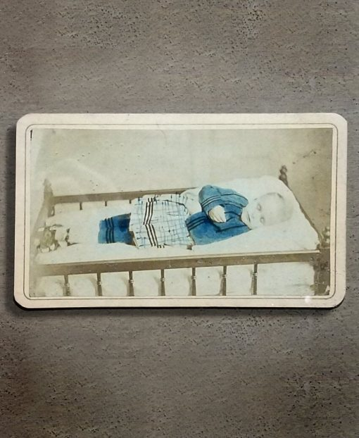 Real Post-Mortem Photo. Victorian Baby Antique Oddity Store