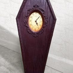 Coffin Clock Casket Clock Gothic Home Decor Halloween