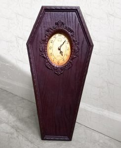 Coffin Clock Casket Clock Gothic Home Decor Halloween