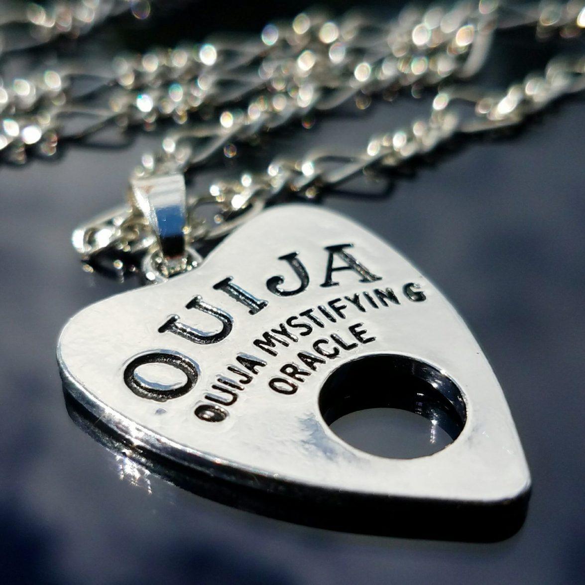 Ouija Board Planchette Necklace