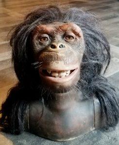 Wowee Chimpanzee Alive Vintage Animatronic Creepy Toy
