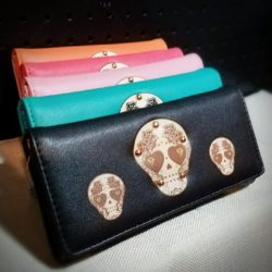Womans-Wallet-Skull-Wallet