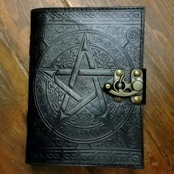 Pentagram Journal, Book of Shadows, Witch Book