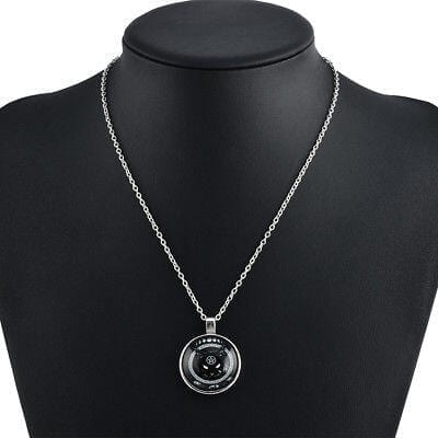Occult Jewelry,Cat with Pentagram, Necklace
