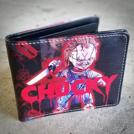 Chucky Wallet, Childs Play Wallet, Horror Movie Gifts