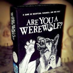 Are You A Werewold Card Game Halloween Games