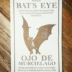 Bats Eye Herb Occult Products
