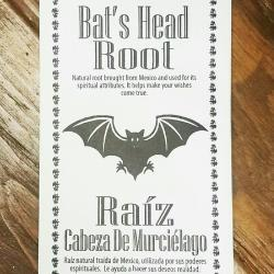 Bats Head Root Herb Occult Products