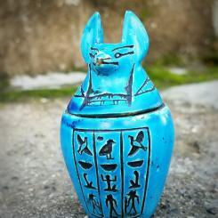 Anubis, Vintage Embalming, Canopic jar