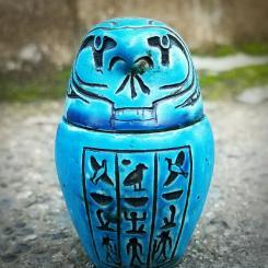 Anubis, Canopic Jar, Vintage Embalming, Oddities