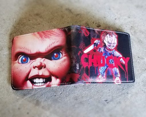 Chucky Wallet, Childs Play, Horror Movie Gifts