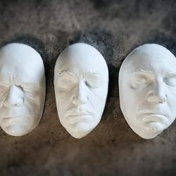 Bela Lugosi Life Mask, Boris Karloff Life Mask, Vincent Price Life Mask, Oddities Store