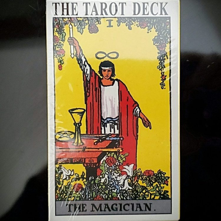 Rider Waite Tarot Deck, Occult Items, Tarot