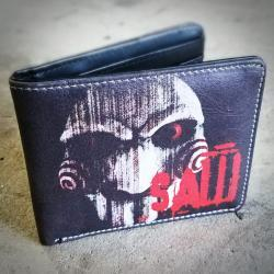 saw wallet, horror movie gifts