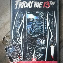 Friday the 13th DVD, Horror Movie Gifts, Friday the 13th Keychain