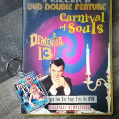 Dementia 13 DVD, Carnival of Souls DVD, Horror Movie Gifts