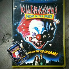 Killer Klowns From Outer Space DVD, Horror Movie Gifts, Horror Movie Keychain