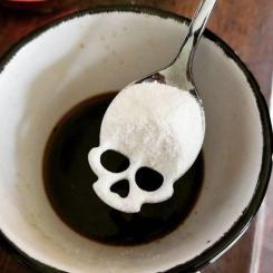 Skull Spoon, Sugar Skull Spoon, Skull Tea Infuser