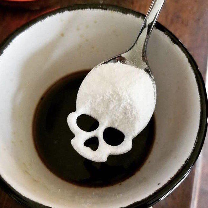 Skull Spoon, Sugar Skull Spoon, Skull Tea Infuser