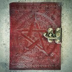 Pentagram Journal, Pentagram Book of Shadows, Occult, Wicca Supplies