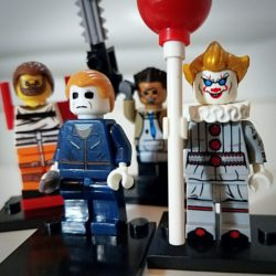 Horror Legos, Horror Movie Gifts, Horror Mini Figures