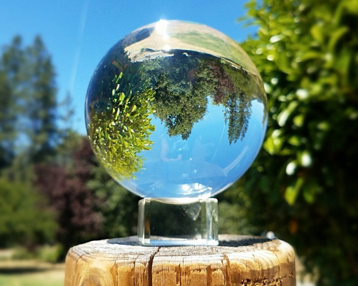 110mm Extra Large Crystal Ball, Clear Crystal Fortune Telling Ball, Quartz,  4 33 Inch, Magic, Occult, Curiosities Crystal
