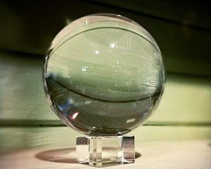 110mm Crystal Ball, Large Crystal Ball Fortune Telling, Quartz