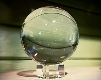 110mm Crystal Ball, Large Crystal Ball Fortune Telling, Quartz