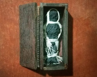 Real Voodoo doll, Creepy, Haunted Oddities