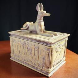 Ancient Egyptian Anubis Jewelry Box