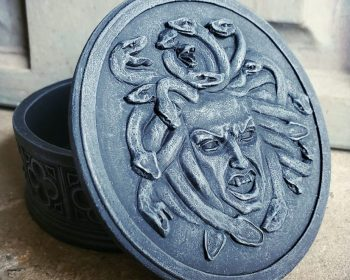 Medusa Jewelry Box, Gothic Decor