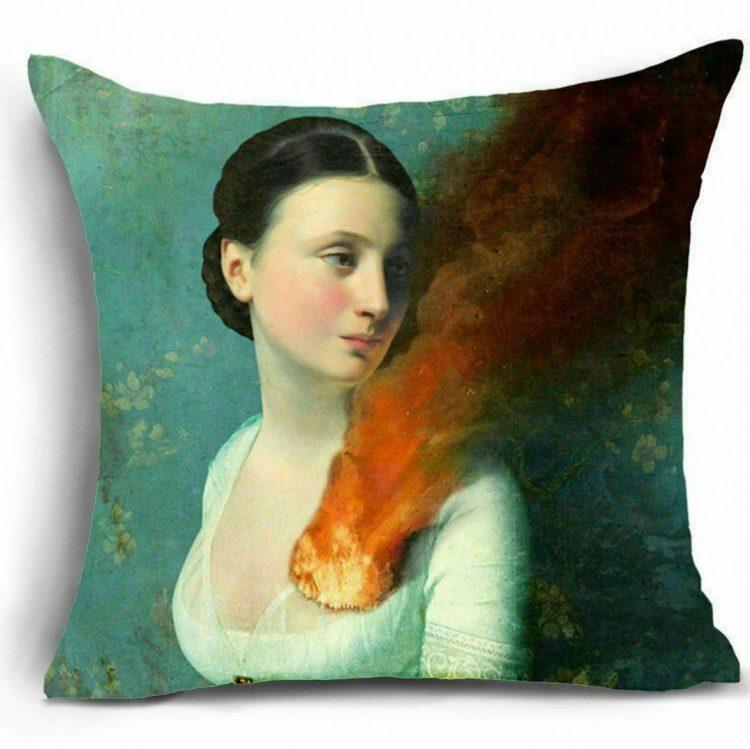 Gothic Decor, Throw Pillow, Gothic Pillows