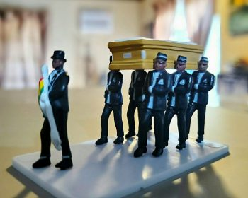 Mini funeral figures, Ghana Funeral, Gothic Gifts
