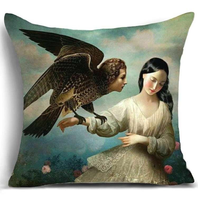 Gothic Décor Throw Pillow, Gothic Pillows