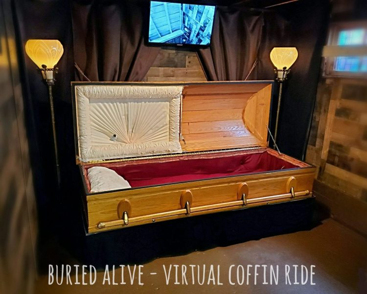Last Ride Coffin Ride, Oregon Oddity Shop