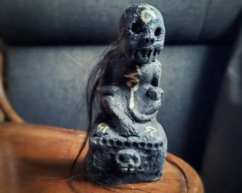 Haunted Items, Thai Luck Charm, Scary Thai Amulet, Oddities and curiosities