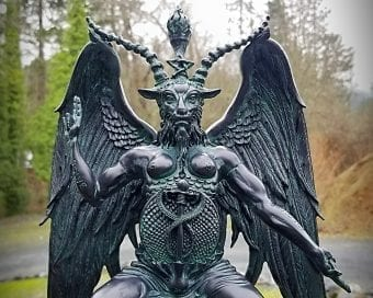 Large Baphomet Statue, Occult Items, Altar Statues