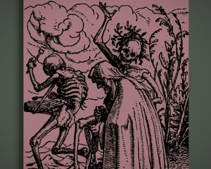 Original Dance Of Death Book, Gothic Books, Gothic Gifts
