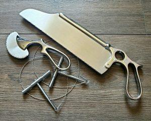 Bone Saw, Vintage Medical, Amputation Saw, Post Mortem Tools