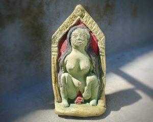 Haunted Items, Thai Luck Amulet, Good Luck Statue, Creepy Stuff