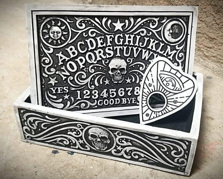 Ouija Jewelry Box, Ouija Trinket Box, Gothic Decor