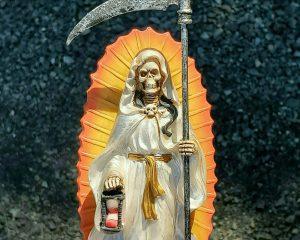Santa Muerte Statue, Santa Muerte Altar, Grim Reaper, Gothic Decor