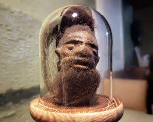 Miniature Shrunken Head, Real Shrunken Head, Oddities Curiosities